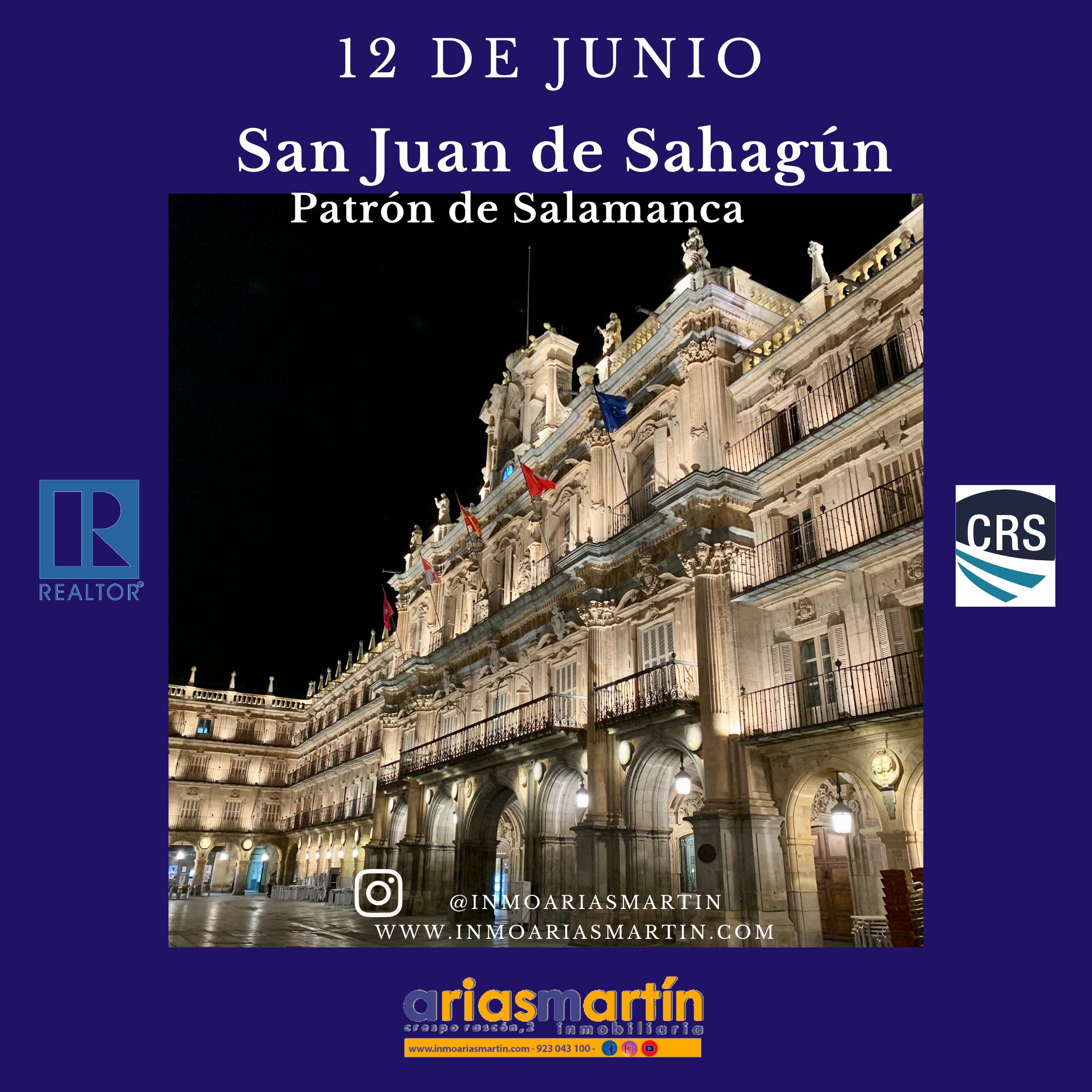 San Juan de Sahagún, patrón de Salamanca